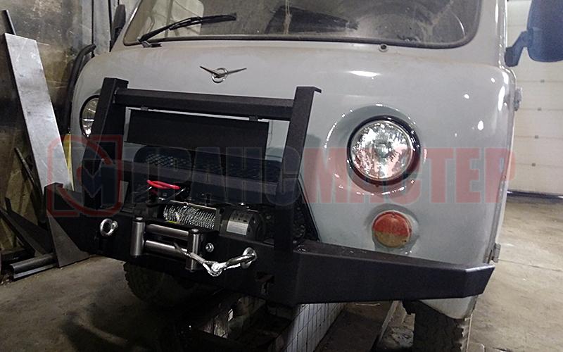 Бампер силовой передний УАЗ