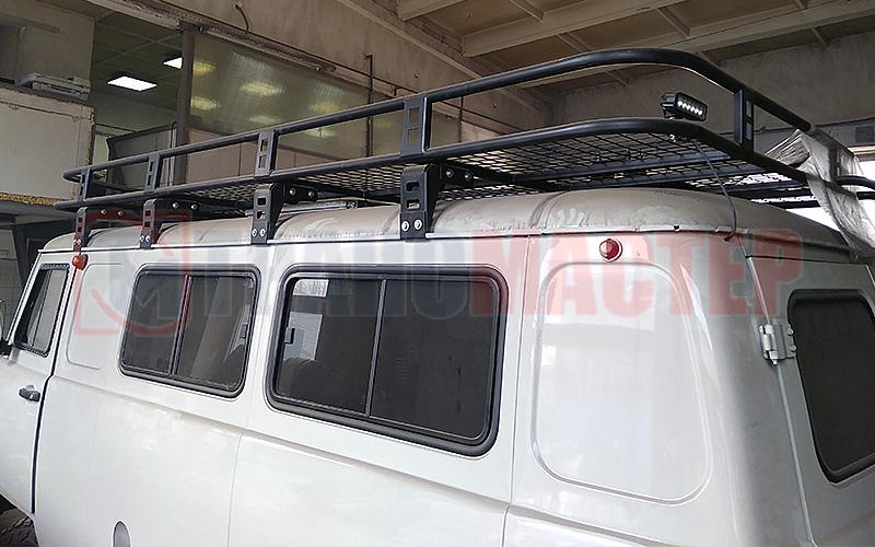 УАЗ буханка багажник экспедиционный